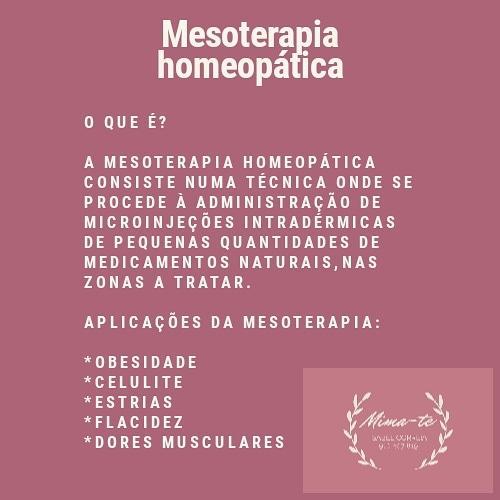 Mesoterapia homeopática