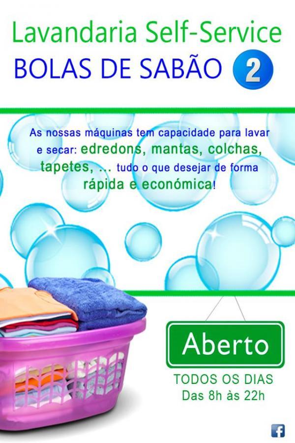 LAVANDARIA BOLAS DE SABÃO 2 - SELF-SERVICE