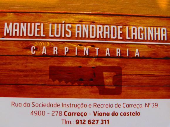 CARPINTARIA MANUEL LUIS DE ANDRADE LAJINHA