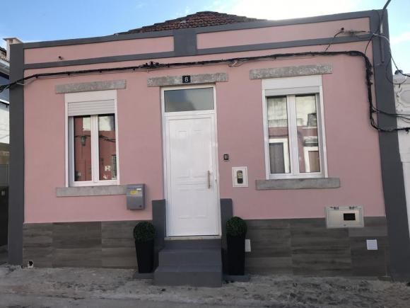 PINK & GREY HOUSE