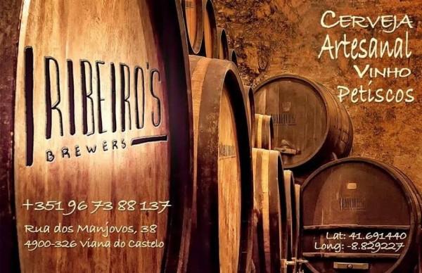 RIBEIRO`S BREWERS - CERVEJA ARTESANAL VINHOS PETISCOS